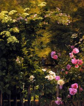Carl Fredrik Aagard : The Rose Garden