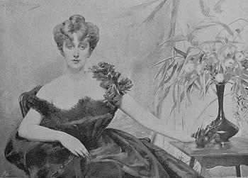 Louise Abbema : Portrait of lady