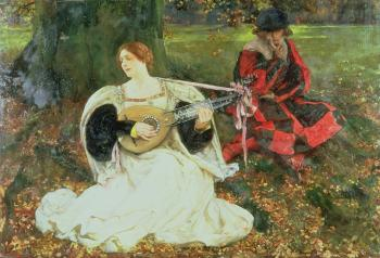 Edwin Austin Abbey : Fair is my love