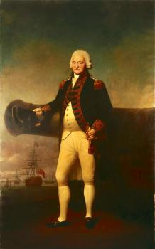 Lemuel Francis Abbott : Sir Peter Parker Bt, 1721-1811, Admiral of the Fleet