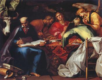 Abraham Bloemaert : The Four Evangelists