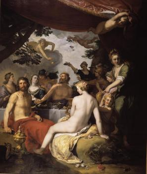 Abraham Bloemaert : The Wedding of Peleus and Thetis