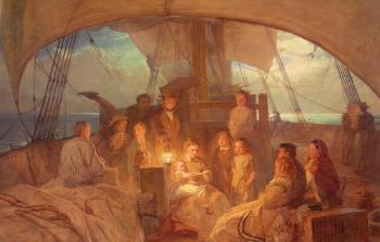 John Absolon : The Emigrant Ship