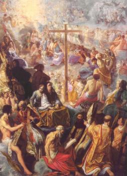 The Exaltation of the Cross from the Frankfurt Tabernacle
