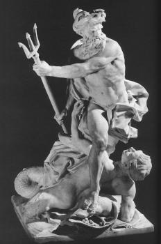 Lambert-Sigisbert Adam : Neptune Calming the Waves