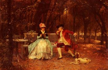 Louis Emile Adan : The Suitor