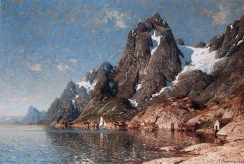 Adelsteen Normann : Sailing on the Fjord