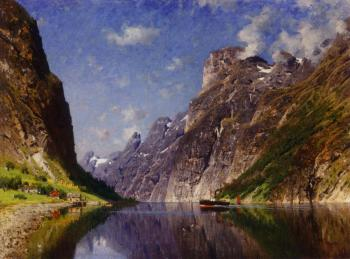 Adelsteen Normann : View of a Fjord II