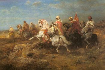 Adolf Schreyer : Arabian Patrol