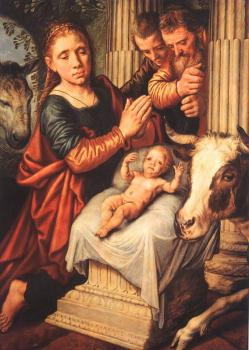 Pieter Aertsen : The Adoration of the Shepherds