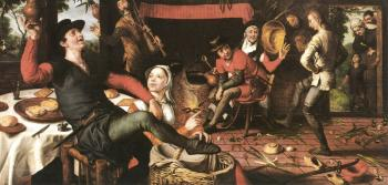 Pieter Aertsen : The Egg Dance