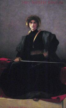 Alfred-Pierre Agache : The Sword
