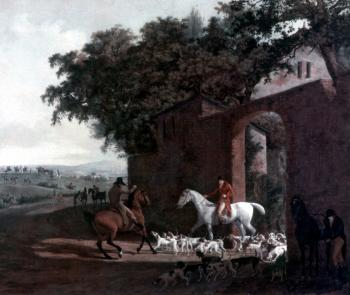 Jacques-Laurent Agasse : Departure to the Hunt