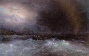 Ivan Constantinovich Aivazovsky : Ship At Sea