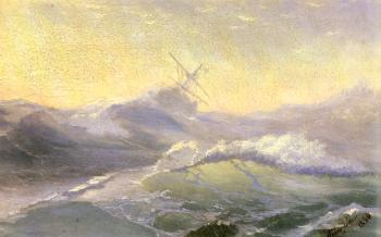 Ivan Constantinovich Aivazovsky : Bracing the Waves
