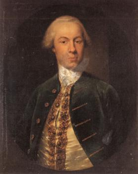 Cosmo Alexander : Portrait of General Allanby, Govenor of Santa Lucia