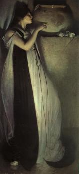 John White Alexander : Isabella and the Pot of Basil