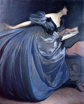 John White Alexander : Althea