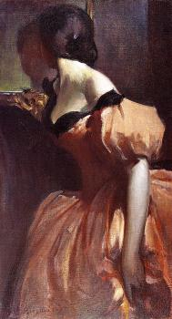 John White Alexander : Fancy Dress