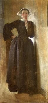 John White Alexander : Josephine, the Breton Maid