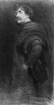 John White Alexander : James McNeill Whistler