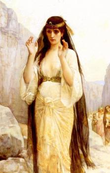 Alexandre Cabanel : The daughter of Jephthah