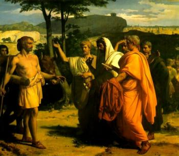 Alexandre Cabanel : Cincinnatus Receiving Deputies of the Senate