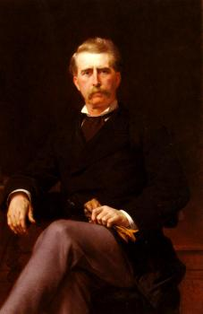 Alexandre Cabanel : Portrait De John William Mackay