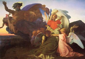 Alexandre Cabanel : The Death of Moses