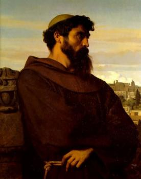 Alexandre Cabanel : The Roman Monk