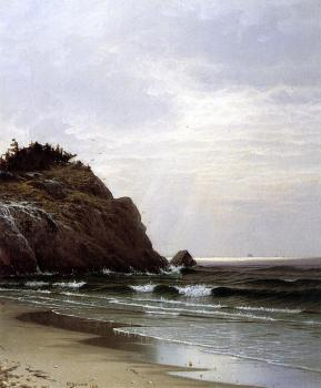 Alfred Thompson Bricher : A Cloudy Day