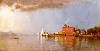 Alfred Thompson Bricher : Along the Hudson