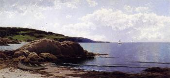 Alfred Thompson Bricher : Baily's Island Maine