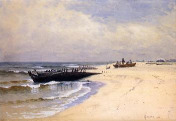 Alfred Thompson Bricher : Low Tide