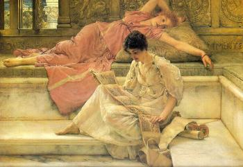 Sir Lawrence Alma-Tadema : The Favorite Poet