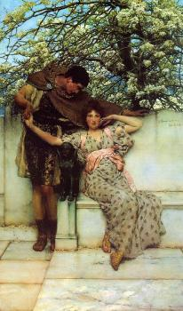 Sir Lawrence Alma-Tadema : Promise of Spring