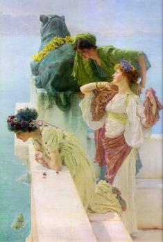 Sir Lawrence Alma-Tadema : A Coign of Vantage