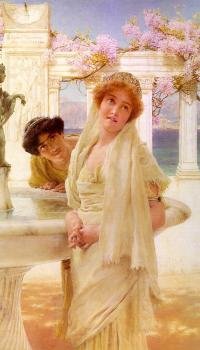 Sir Lawrence Alma-Tadema : A Difference of Opinion