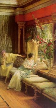 Sir Lawrence Alma-Tadema : Vain Courtship