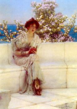 Sir Lawrence Alma-Tadema : The Year is at the Spring