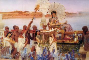 Sir Lawrence Alma-Tadema : The Finding of Moses