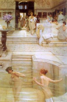 Sir Lawrence Alma-Tadema : A Favorite Custom