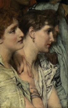 Sir Lawrence Alma-Tadema : An Audience