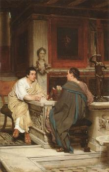 Sir Lawrence Alma-Tadema : The Discourse(A Chat)