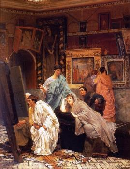 Sir Lawrence Alma-Tadema : A Collection of Pictures at the Time of Augustus