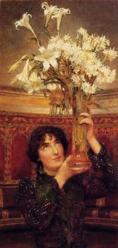 Sir Lawrence Alma-Tadema : A Flag of Truce