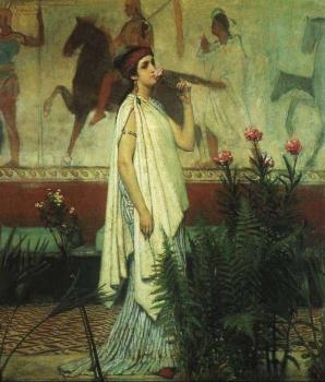 Sir Lawrence Alma-Tadema : A Greek Woman