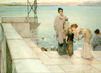 Sir Lawrence Alma-Tadema : A Kiss