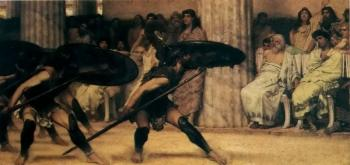 Sir Lawrence Alma-Tadema : A Pyhhric Dance