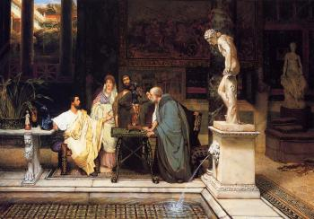 Sir Lawrence Alma-Tadema : A Roman Art Lover